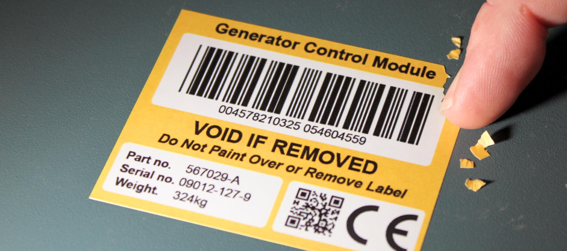 photo regarding Printable Tamper Proof Labels named Safety Labels CILS