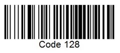 Code 128 Barcode Label